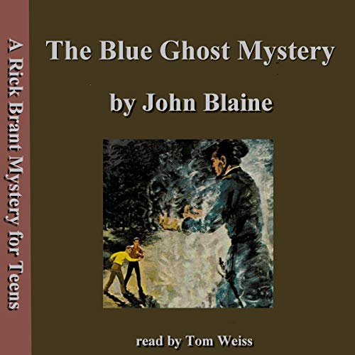 The Blue Ghost Mystery cover art