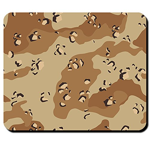 Tarnmuster Us Armee Wüstentarn Armee Uniform- Mauspad Mousepad Computer Laptop PC #5819