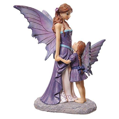 Puckator Figura de Resina de Hadas, Madre e Hija, diseño Lisa Parker de Avalon de 15 x 13 x...