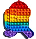 NF ROADTOLOVE Pop it Fidget Toy | Push Pop it Juguete Antiestrés para niños | Push Pop Fidget Juguetes Antiestres | Juguetes Antiestrés Niños Bubble Push | Among us Grande XL Corriendo.