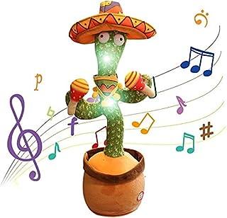 Juguetes de Peluche de Cactus, Cactus Que Canta y Baila, Cactus Que se Mueve Electrónicamente, Grabación de Repetición, Qu...