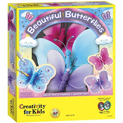 Creativity for Kids - Cfk1206 - Kit De Loisirs Créatifs - Magnifiques Papillons