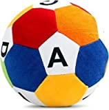 Gitanshi Enterprises Multicolour Alphabatic ABCD generic Soft Toys Foot Ball cm 20 Birthday Gift for...