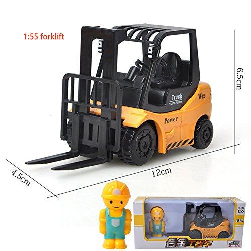 Absir 1: 64 Kinder Legierung Engineering Autos ziehen Fahrzeugmodell Spielzeug als Geschenk Forklift