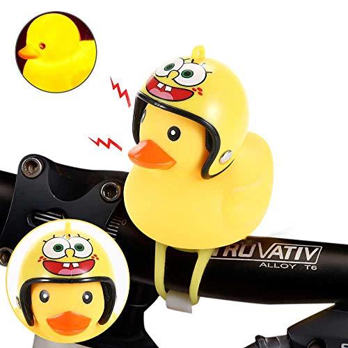 Hamkaw Fahrradhupe, gelbe Ente, Fahrradklingel, schöne Gummiente, Fahrradklingel für Fahrradlenker, Glocke C