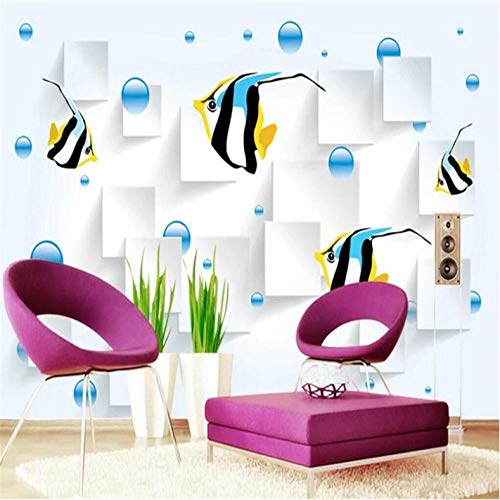 Pbbzl 3D Polpo bureau-onderlegger Estetica murale metselwerk professionele productie papier wandafbeelding 120 x 100 cm.