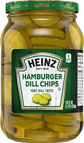 Heinz Hamburger Dill Chips - Tarro para pepinillos (473 ml)