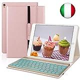 SENGBIRCH Custodia Tastiera per iPad 10.5, Copertura Protettiva Slim Fit con Tastiera Bluetooth...