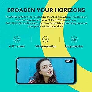 """Xiaomi Redmi 9 - Smartphone 3GB 32GB, Pantalla FHD+ de 6.53"""", AI Quad Cámara de 13 MP, Batería de 5020 mAh, Púrpura"""