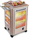 SKYHY224 Calentador eléctrico Varilla de calefacción eléctrica de Chimenea Multifuncional, Restaurante, Taller Calefacción de Espacio Interior/Exterior Weatherfest