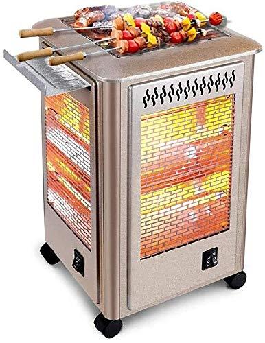 WSJTT Calefactor Varilla de calefacción eléctrica de Chimenea Multifuncional, Restaurante, Taller Calefacción de Espacio Interior/Exterior Weatherfest