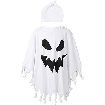 104 558 Fantasmino Costume Copricapo con Maschera Taglie Assortite 8003558361502 Multicolore WIDMANN