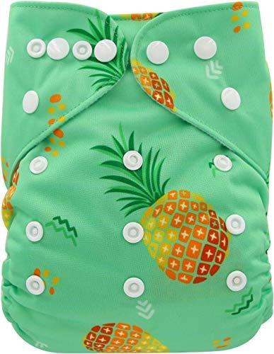 Ohbabyka Couches de poche réglables unisexe en tissu avec 1 intérieur en daim doux (OB168)