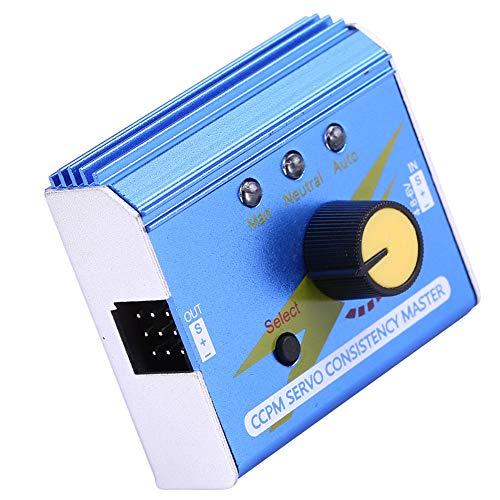 VGEBY1 Servotester, Servotest Konsistenz Master-Servomotor-Controller ESC-Tester für RC-Modell