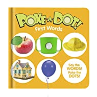 Melissa & Doug Children's Book – Poke-a-Dot: First Words (Board Book with Buttons to Pop)