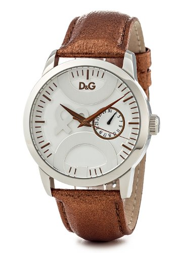 D&G Dolce & Gabbana DW0700 - Reloj para Hombres, Correa de Cuero Color marrón