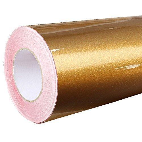 4,41€/m² Rapid Teck® Glanz Folie - 092 Kupfer - Klebefolie - 5m x 63cm - Plotterfolie - selbstklebende Folie - auch als Moebelfolie - Dekofolie