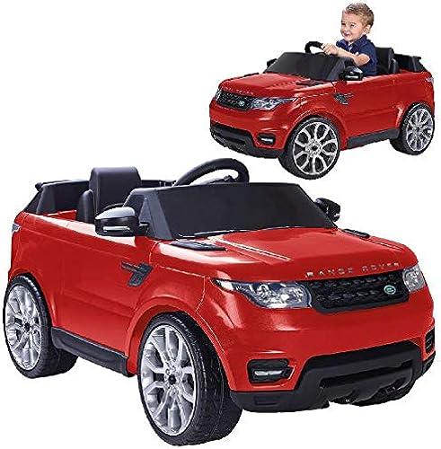 encuentra tu favorito aquí FEBER- Range Rover Sport Coche eléctrico para Niños Niños Niños de 3 a 7 años de Juguete, 6V, Color rojo (Famosa 800009611)  diseño simple y generoso