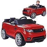 FEBER- Range Rover Sport Coche eléctrico para niños de 3 a 7 años de Juguete, 6V, Color Rojo (Famosa 800009611)