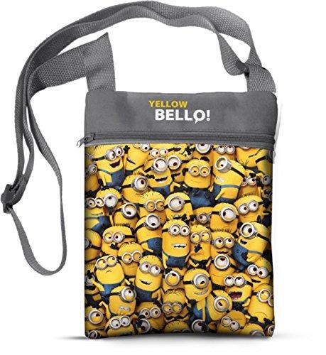 Star Universal Despicable me Bag and Handbag Printed Satin Shape-...