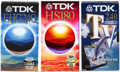 Great Deal! TDK Vhs Hs E60 (Single)