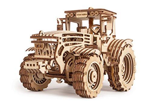 Puzzle de madera 3D - Tractor
