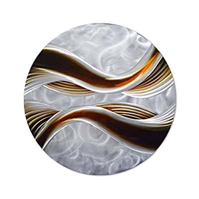 Caramel Desire Large Metal Wall Art from