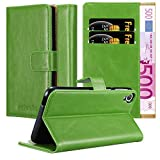 Cadorabo Coque pour HTC Desire 820 en Vert PRÈ – Housse Protection avec Fermoire Magnétique,...