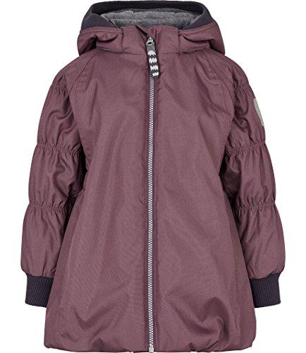 Racoon Mädchen CAJSA SOLID Winterjacke Wassersäule 9.000 Jacke, Violett (Black Plum Bla), 116