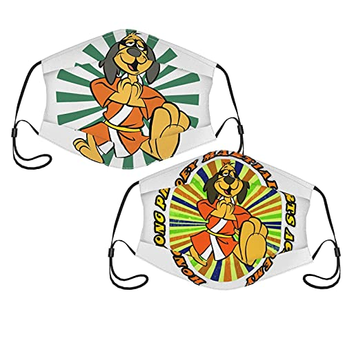 Hong Kong Phooey Adult Comfort Facepiece Reusable Face Mask with Filters - Adjustable (2-Pack) With 10 Filter One Size