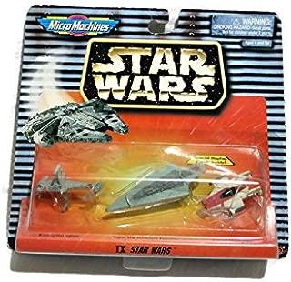 Star Wars Micro Machines IX: B-wing Starfighter, Super Star Destroyer Executor, A-wing Starfighter