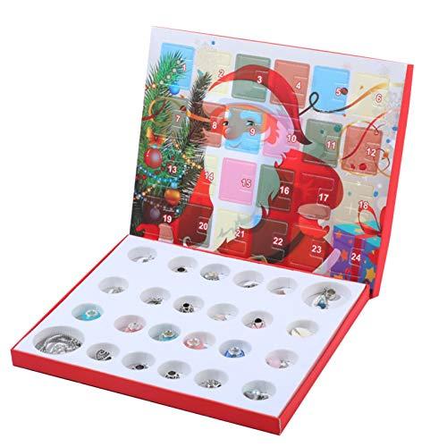 Ruby569y - Kit de joyería para manualidades con cuentas de calendario de...