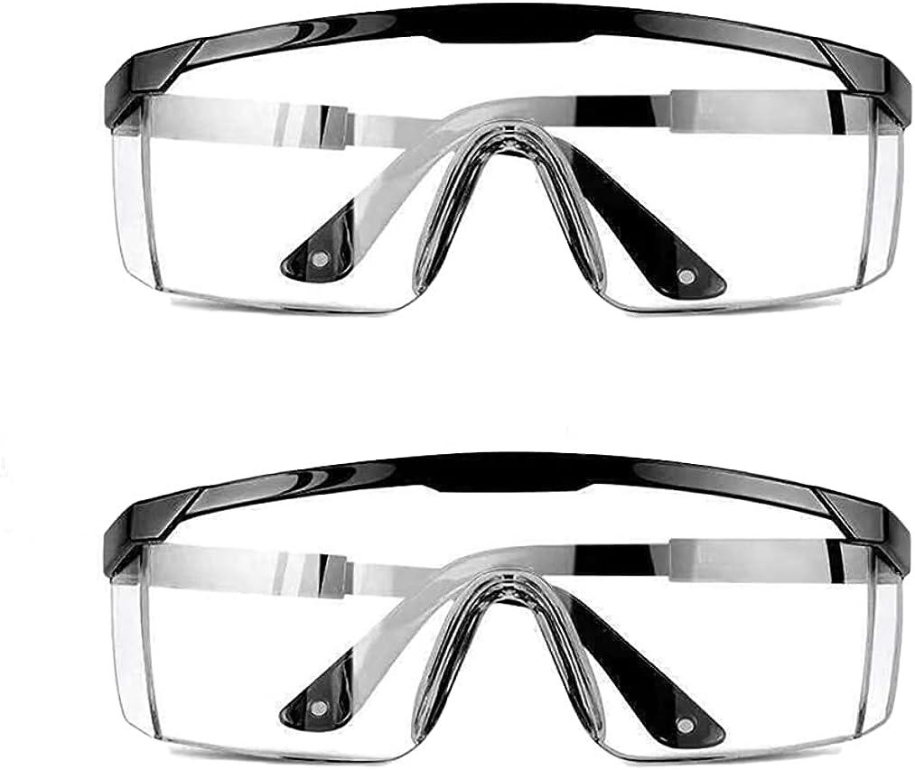 Urban Print Pack de 2 Gafas de Protección, Gafas de Seguridad Contra el Polvo, manchas y agentes contaminantes.