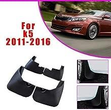 Juego de 4 piezas protectores contra salpicaduras de salpicaduras de barro delanteras y traseras para coche para KIA Optima K5 2011-2016, accesorios de carrocería y diseño de guardabarros para coche