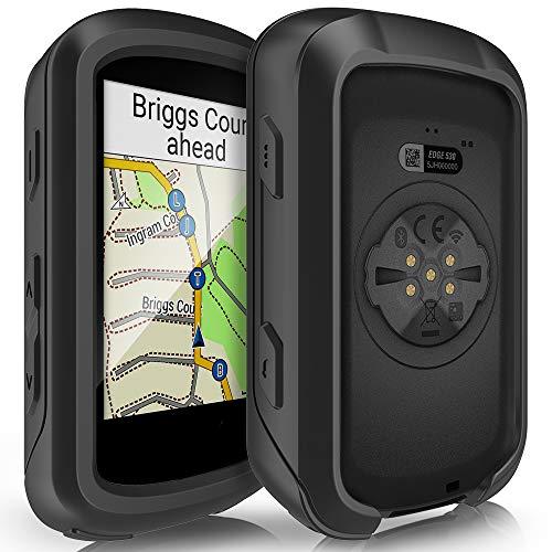 TUSITA Cas Compatible avec Garmin Edge 530 - Housse de Protection en Silicone Peau - Ordinateur de vélo Accessoires GPS