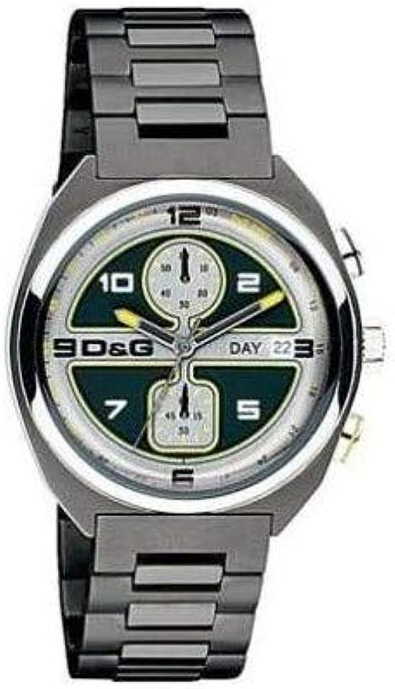 Dolce & gabbana,orologio,cronografo da uomo,in acciaio inossidabile DW0302
