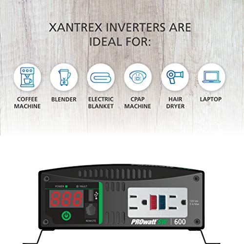 Xantrex Prowatt SW2000 2000W True Sinewave Inverter Model# 806-1220 Brand New