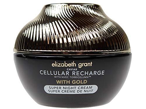 ELIZABETH GRANT CAVIAR Cellular Recharge Super Nachtcreme mit Gold (100ml) XL Größe