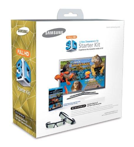 Samsung SSG-P2100X/ZG 3D-Starterpaket Triple Feature (2X 3D Brillen, 3X 3D Film)