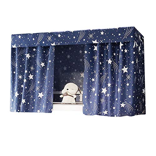 Rebecca Bunk Bed Curtains Privacy Curtains Blackout Shading Cloth Panel for Home College Dorm
