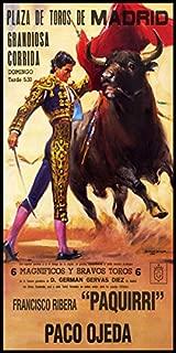 Bullfighting - Plaza De Toros De Madrid #6 Canvas Art Poster 12