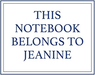 This Notebook Belongs to Jeanine