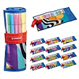 Pennarello Premium - STABILO Pen 68 -  Rollerset con 25 colori assortiti - Just like you Edition