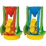 Androni - Giochi all'aperto, Mulinello da spiaggia con attrezzi, Modelli/Colori Assortiti, 1 Pezzo