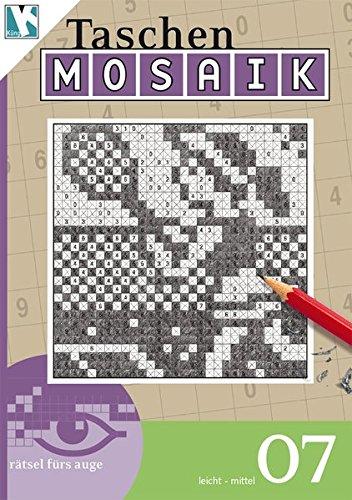 Mosaik-Rätsel 07 (Taschen-Mosaik Taschenbuch / Logik-Rätsel)