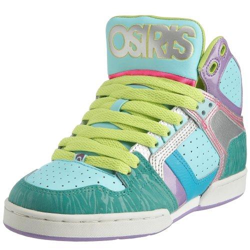 Osiris Damen Bronx Sneaker, Grün Blau Violett - Größe: 37 EU