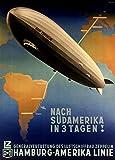 World of Art Vintage Travel Germany von Zeppelin für