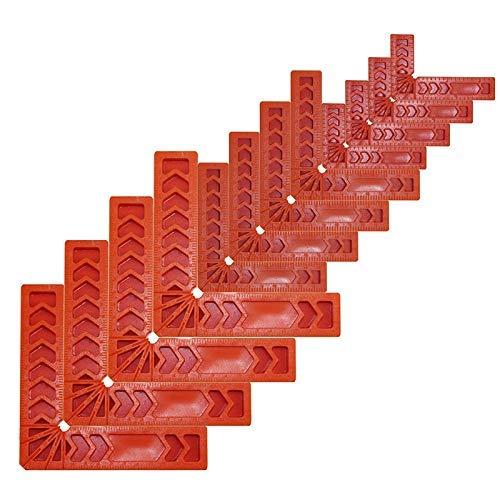 LNDDP 90-Grad-Positionierungsquadrate, rechtwinklige Eckklemme, Holzbearbeitungswerkzeuge für Bilderrahmen, Kästen, Zusammenbau von Schränken oder Schubladen, Zimmermannswerkzeug