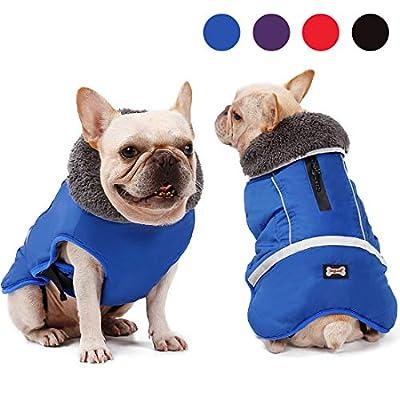 Dog Jacket Waterproof, Reflective Dog Coat Thic...