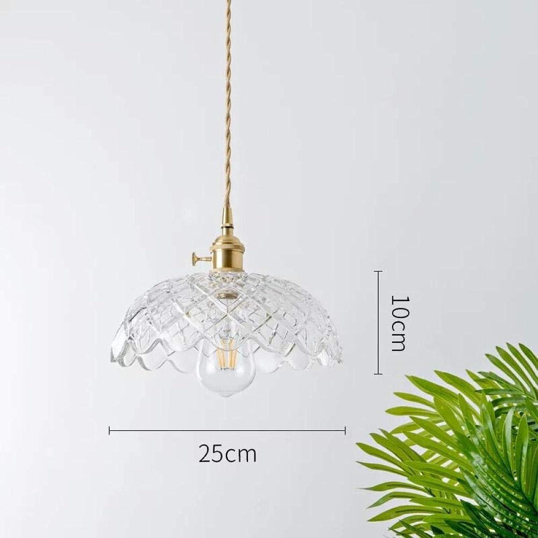 KISlink Moderner minimalistischer Glasleuchter Arbeitszimmer Schlafzimmer Esszimmer Wohnzimmer Single Head @ C